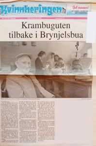 Kvinnheringen juli 1995