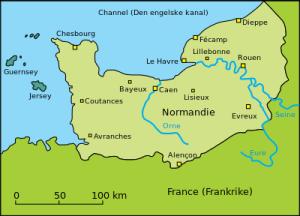 Normandie kart