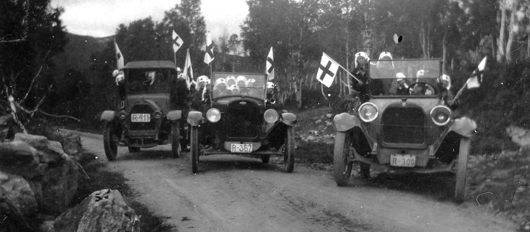 På tur med røde kors 1926.